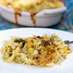 Improved Broccoli, Cheese and Rice Casserole For Two