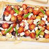 Cherry Tomato, Caramelized Onion, and Goat Cheese Phyllo Tart