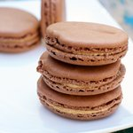 Chocolate Peanut Butter Macarons