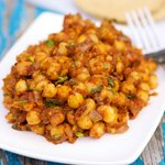 Star Anise and Date Masala Spiced Chickpeas