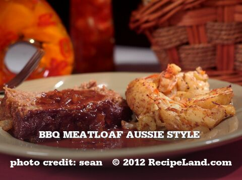 Bbq Meatloaf Aussie Style