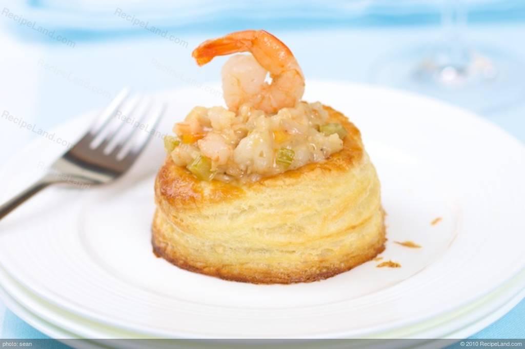 creamed shrimp filling for vol au vent or bouch es recipe. Black Bedroom Furniture Sets. Home Design Ideas