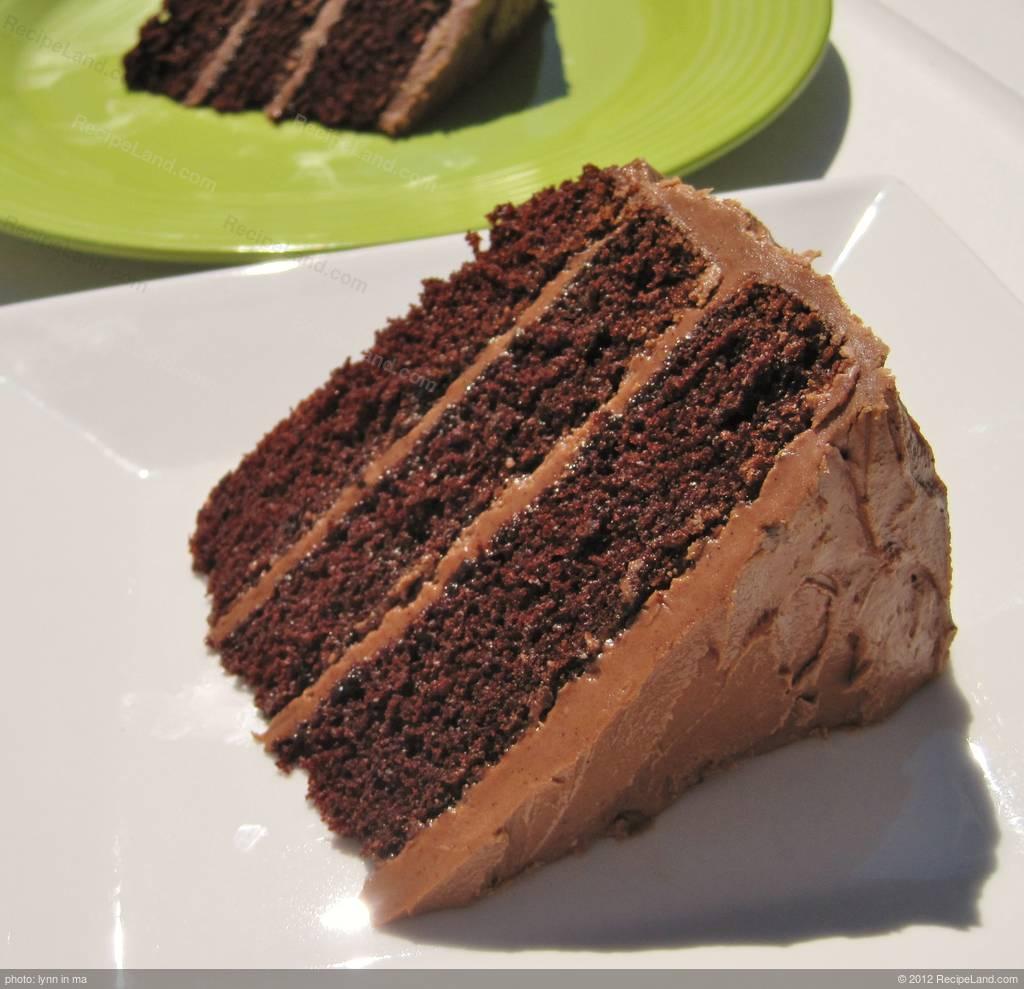 Black Magic Cake Recipe   RecipeLand.com