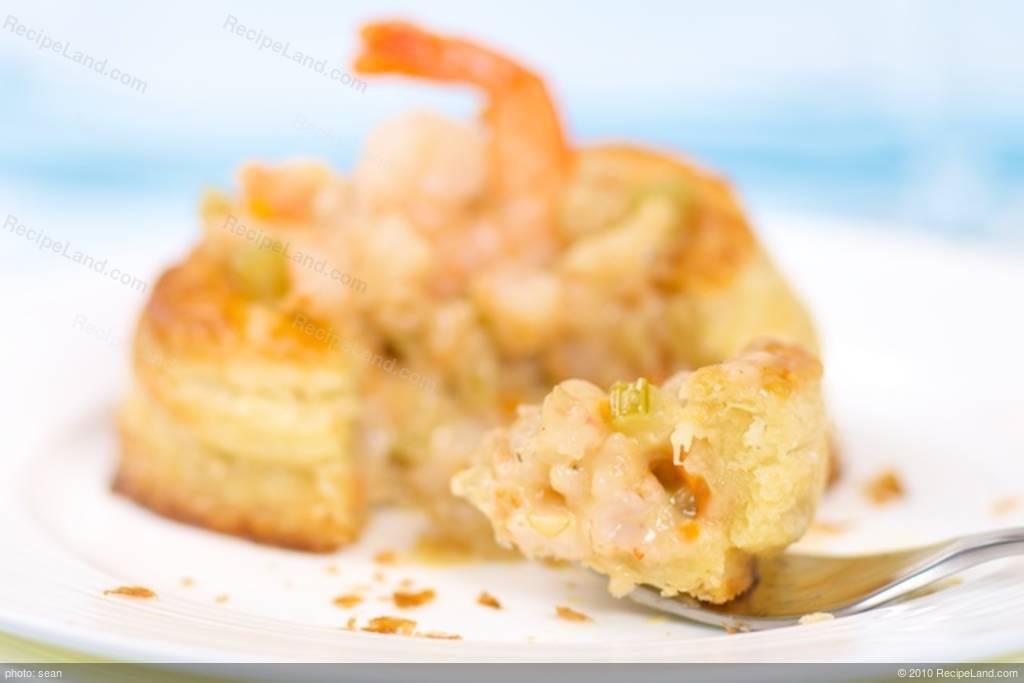 Creamed Shrimp Filling For Vol Au Vent Or Bouchées Recipe
