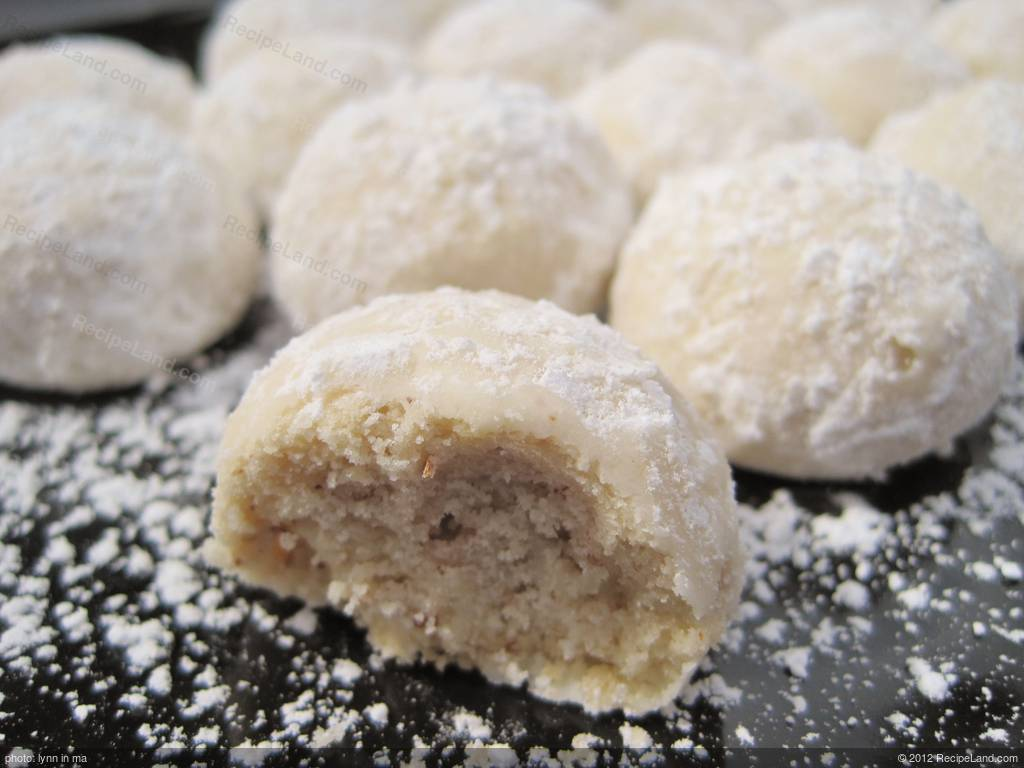 Russian Tea Cakes/Mexican Wedding Cookies Recipe
