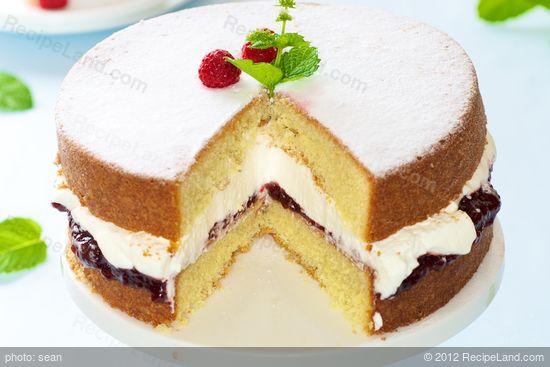 Low Fat Victoria Sponge Cake Recipe