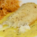 Tilapia with Orange Tarragon Sauce for Two