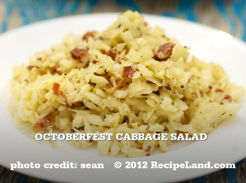 Octoberfest Cabbage Salad