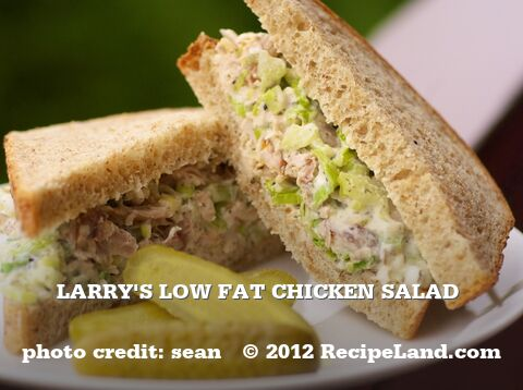 Larry's Low Fat Chicken Salad