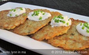 Golden Potato Pancakes