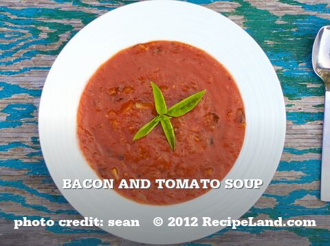 Bacon and Tomato Soup