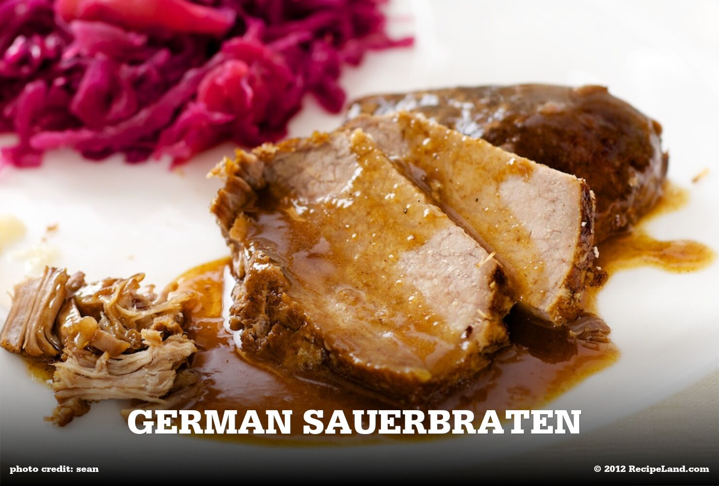 German Sauerbraten
