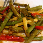 Balsamic Green Beans and Pepper