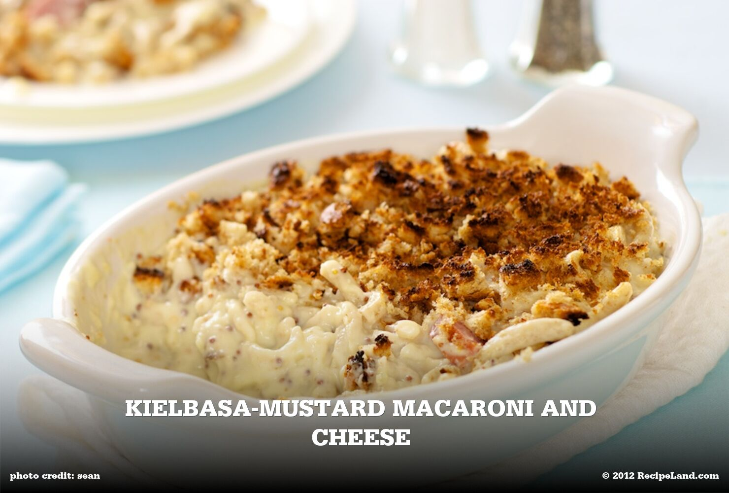 Kielbasa-Mustard Macaroni and Cheese
