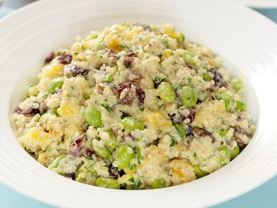 Chilled Couscous Salad with Mango
