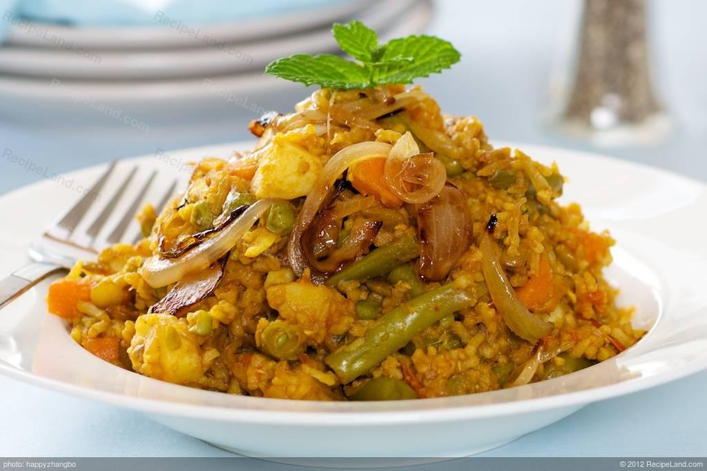 South African Vegetable Biryani Recipe