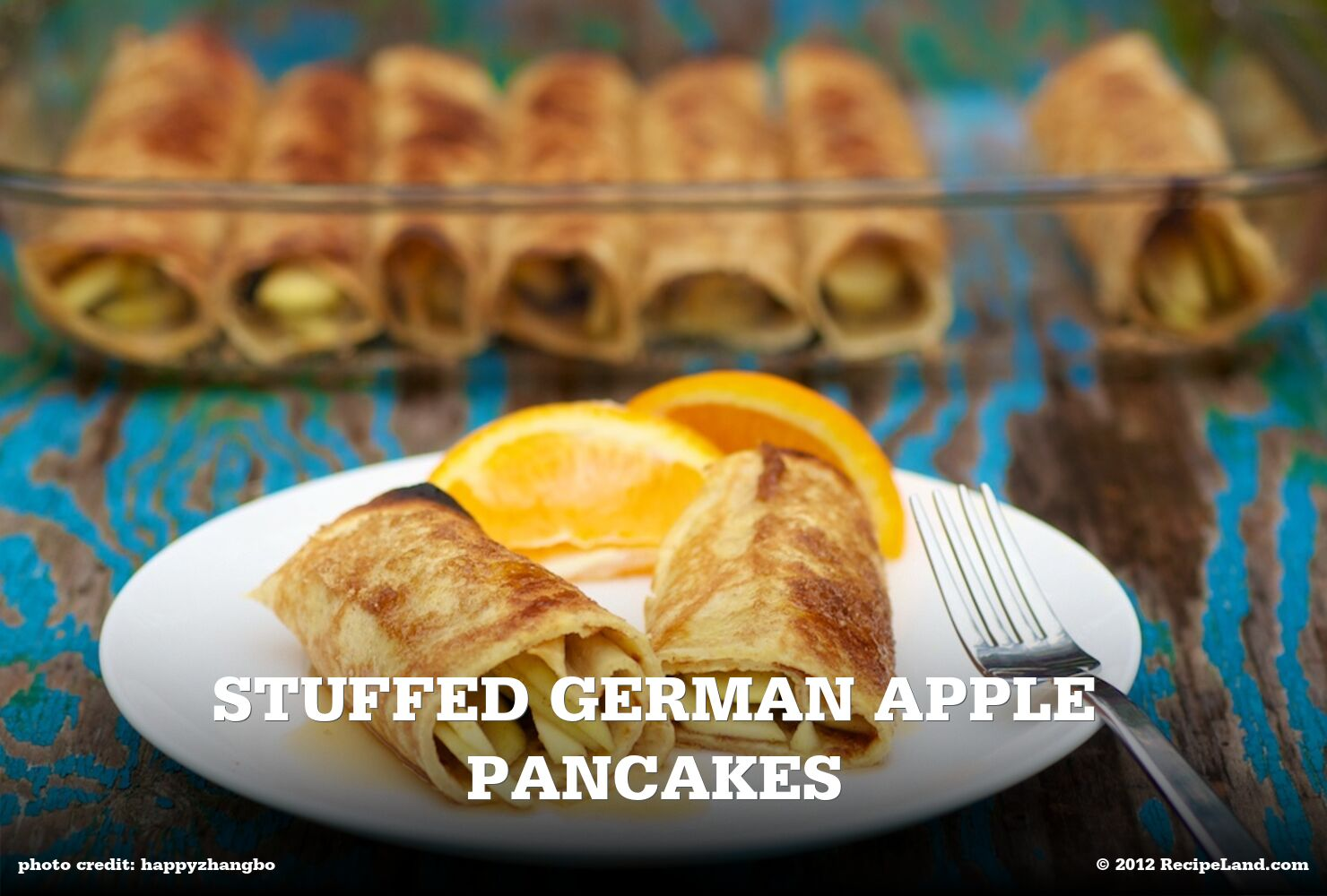 Stuffed German Apple Pancakes