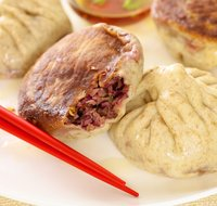 Cabbage and Shiitake Pot Sticky Buns