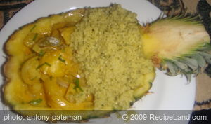 Sri Lanka Annasi (Pineapple Curry)
