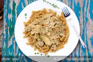 Sauteed Chicken in Cream Cheese Sauce