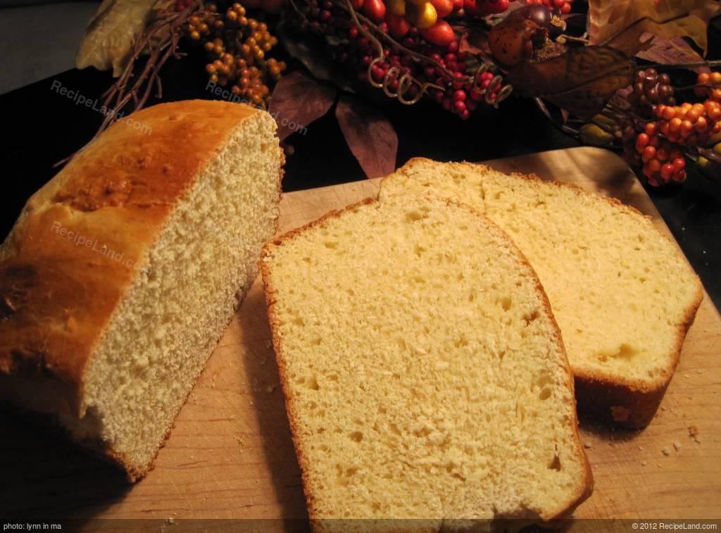 Best Portuguese Sweet Bread Bread Machine Recipe