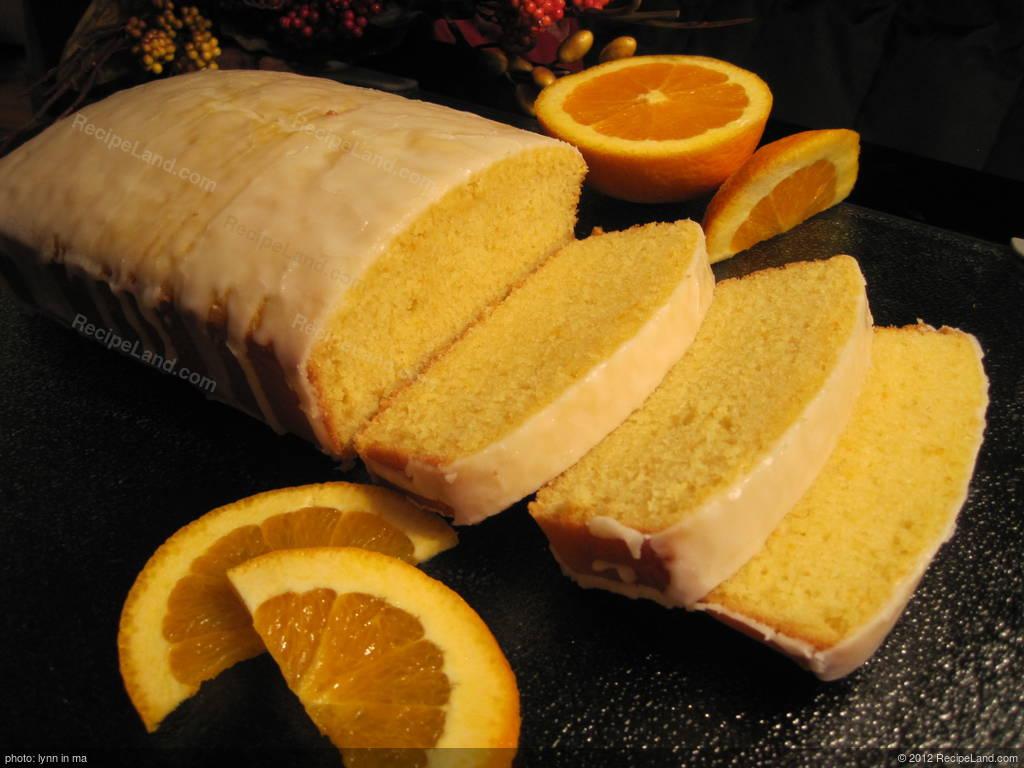 Pound Cake Loaf Recipes: Orange Loaf Cake (Pound Cake) Recipe