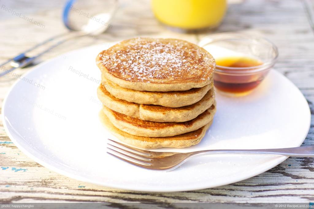 Whole Wheat Pumpkin Pancakes for Two Recipe