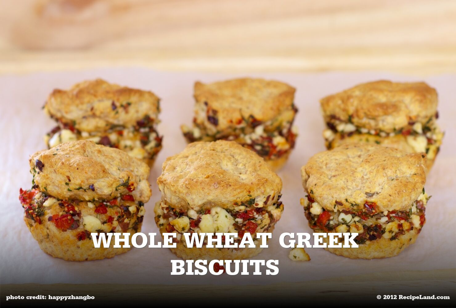 Whole Wheat Greek Biscuits