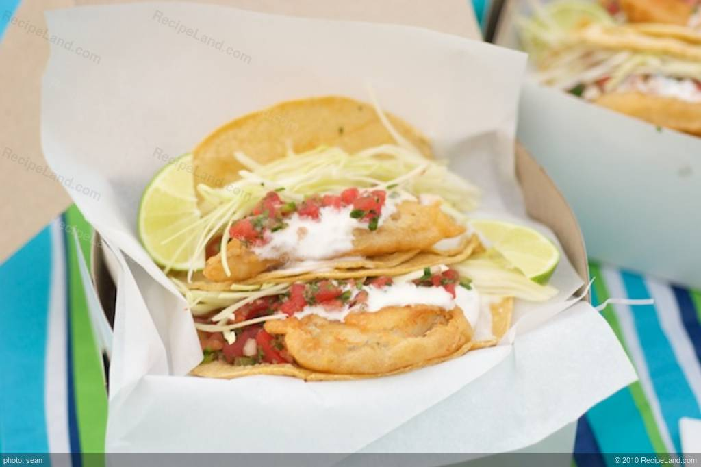 Fish taco recipe rubios all about fish for Rubios fish taco calories