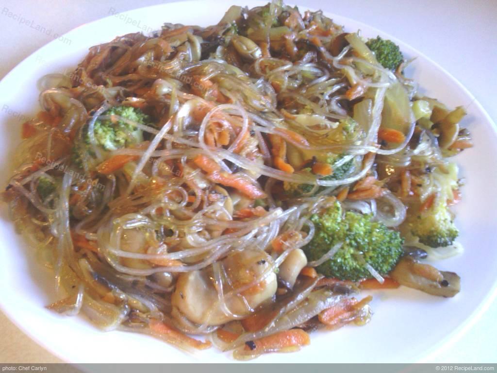 Bean Thread Vegetable Stir Fry Recipe