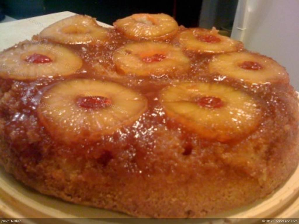 Pineapple Apple Upside Down Cake