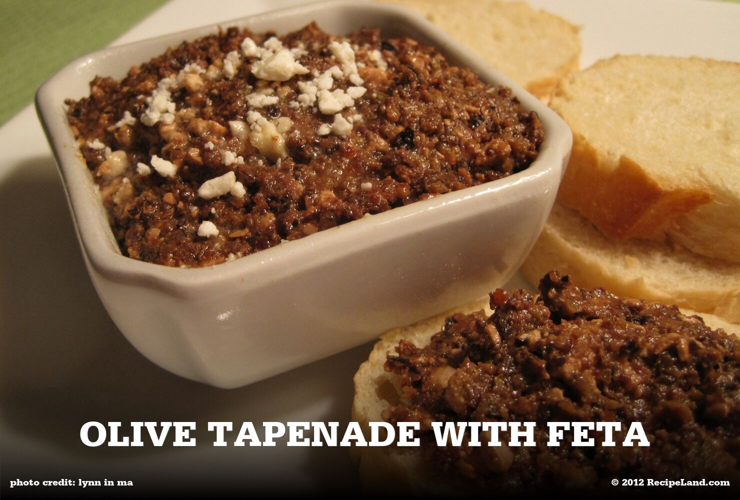 Olive Tapenade with Feta