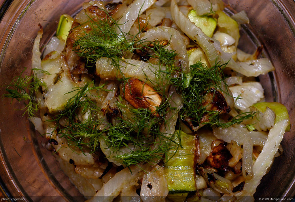 Roasted Squash and Fennel with Thyme recipe