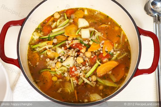Easy Italian Sausage Vegetable Soup