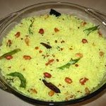 Indian Style Lemon Rice (Nimakaya Pulihora)