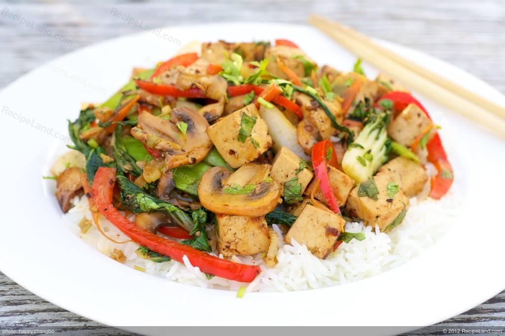 how to cook vegetable tofu stir fry