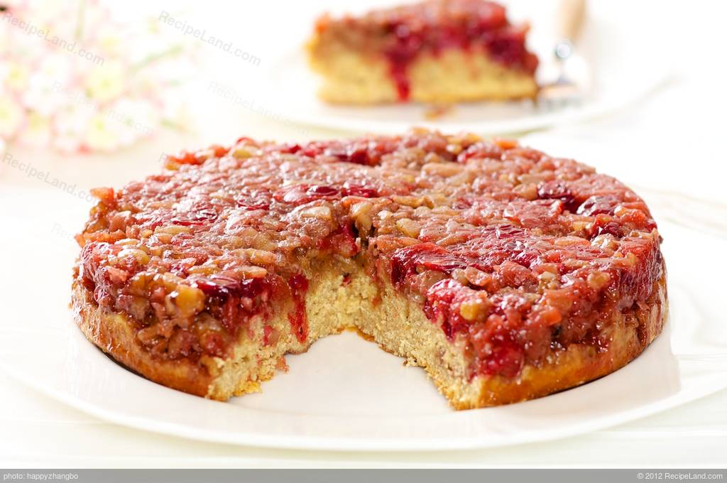 Cranberry Upside Down Coffee Cake