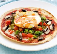 Breakfast Mexican Pizza