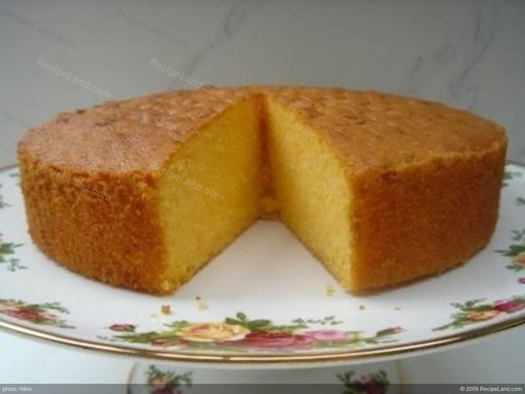 Easy Sponge Cake Recipe Without Butter