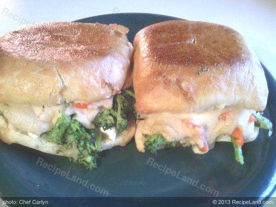 Broccoli Rabe And Bean Puree Vegan Grinders Recipe