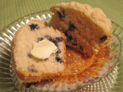 Maine Blueberry Muffins