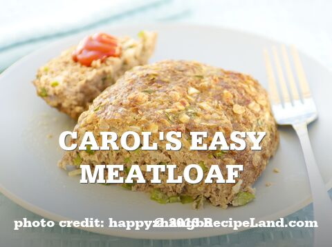 Carol's Easy Meatloaf