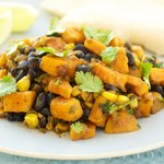 Black Bean, Sweet Potato and Corn Stew