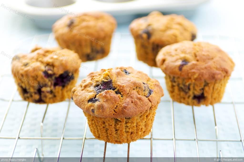 Amazing Blueberry Lemon Muffins Recipe - photo#19