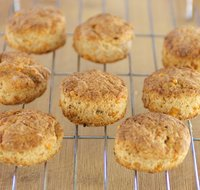 Whole Wheat Cheddar-Pepper Biscuits