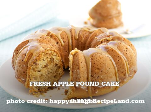 Fresh Apple Pound Cake