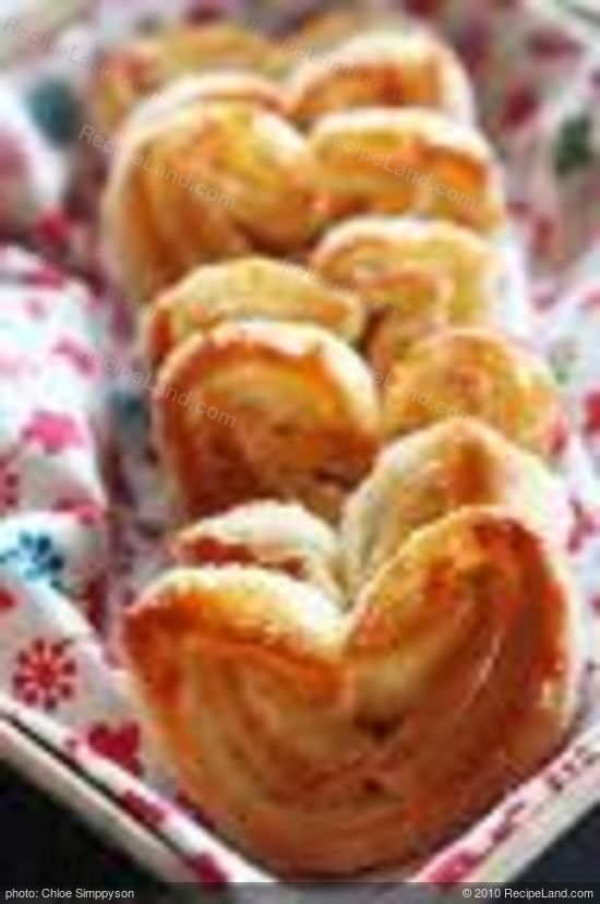 Cheese Palmiers :D