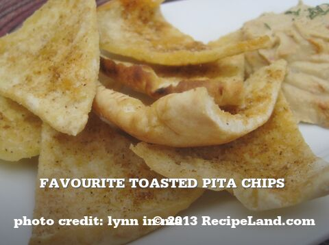Toasted Pita Chips