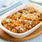 Butternut Squash and Parmesan Custard Bread Pudding