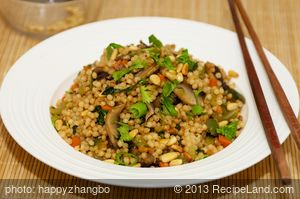 Chinese Couscous Salad